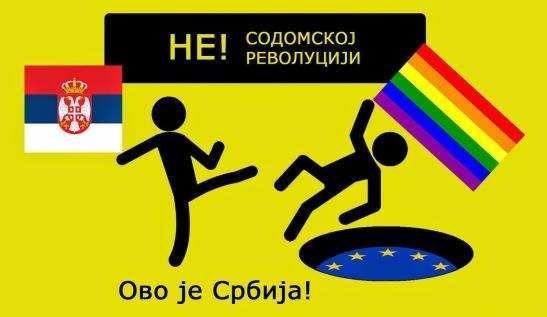 plakat borbeno LGBT